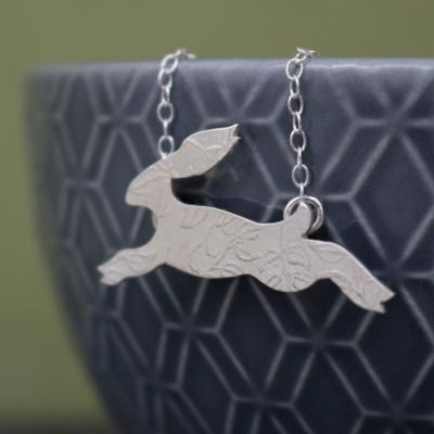 hare nature wildlife jewellery pagan