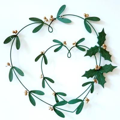 mistletoe holly Christmas decoration