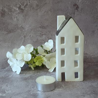 white simplicity tealight cover cottage