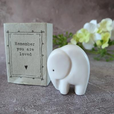 matchbox elephant never forget love you