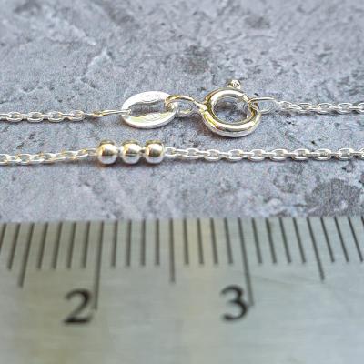 decorative silver chain necklace pretty