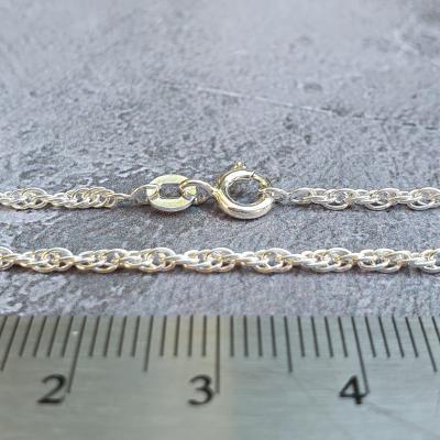 "18"" silver chain pendant necklace"