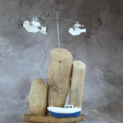 nautical bathroom ornament seagulls